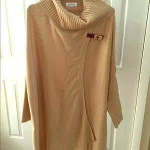Poncho like sweater!